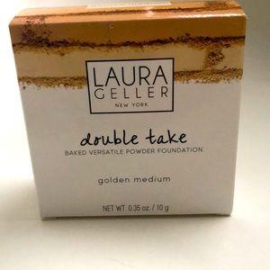 Baked Powder Foundation Golden Medium Shade